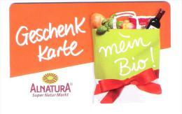 Germany - Allemagne - Alnatura - Natur Bio Super Market - Carte Cadeau - Carta Regalo - Gift Card - Gift Cards