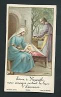 Jésus,   Marie, Joseph.  à Nazareth Litho Couleur.   Bouasse-Jeune. 9004. - Images Religieuses