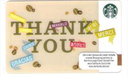 Germany - Allemagne - Starbucks 2014 - 6097 - Carte Cadeau - Carta Regalo - Gift Card - Geschenkkarte - Frankreich