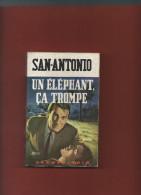 San-Antonio Frédéric DARD  Un éléphant ça Trompe N° 697  Collection Spécial Police SP  1968 - San Antonio