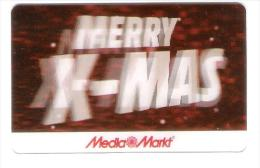 Germany - Allemagne - Media Markt - Carte Cadeau - Carta Regalo - Gift Card - Geschenkkarte - 3D - Christmas - Gift Cards