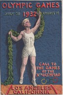 OLYMPISCHE SPIELE-OLYMPIC GAMES, USA, 1932, Special Postcard / Not Forwarded, Appr. 15.5 X 10.5 Cm !!