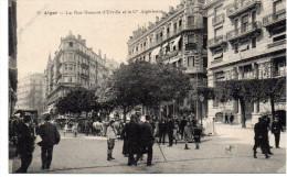 - ALGERIE - CPA Vierge ALGER - La Rue Dumont-d´Urville Et La Cie Algérienne (belle Animation) - Coll. Paris N° 9 - - Algerien