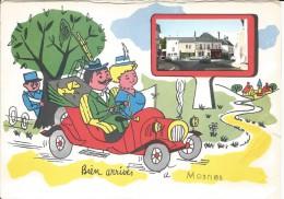 EN L ETAT -  MOSNES -  BIEN ARRIVES A MOSNES - Autres Communes