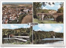 LE LONGERON EN MAINE ET LOIRE  CARTE MULTIVUES    CPA CIRCULEE - France