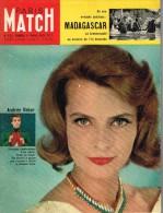 PARIS-MATCH N°522 - 11 Avril 1959 - Informations Générales