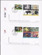 Belgie - Belgique BL192  KUIFJE - TINTIN  FDC (2) Kuifje Op Het Scherm - Philabédés