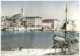 Rovinj Postcard Travelled 1960 Bb151106 - Kroatien