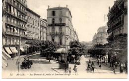 - ALGERIE - CPA Vierge ALGER - Rue Dumont D´Urville Et Tournant Rovigo (HOTEL DU HAVRE) - Editions Lévy N° 73 - - Algerien