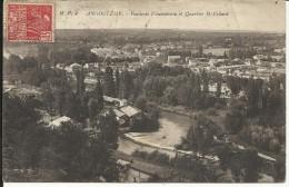 ANGOULEME , Fonderie Fleuranceau Et Quartier Saint Cybard , 1931 - Angouleme