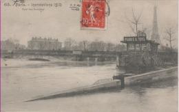 PARIS-Inondations De 1910-7è Arr-Pont Des Invalides - FF Paris 63 - Paris Flood, 1910