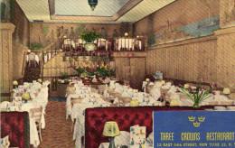 Three Crowns Restaurant, Native Swedish Cuisine,Revolving Smorgasbord Of World's Fair Fame. - Bars, Hotels & Restaurants