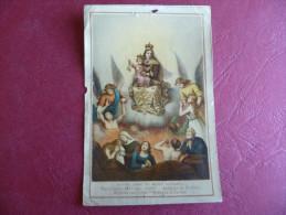 Santino Notre Dame Du Mont Carmel  Madonna Del Carmine **RARO** - Santini