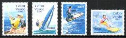 CAP-VERT. N°690-3 De 1996. Sports Nautiques : Jet Ski/Surf/Planche à Voile/Pêche.