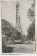 Scoutisme Scouts De France Erection Tour Eiffel En Bois A Orleans Loiret Avril 1931 4000 Heures  Photo Desir - Scouting