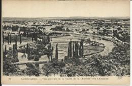 ANGOULEME , Vue Générale De La Vallée De La Charente Vers L' Houmeau - Angouleme