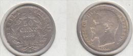 FRANCE  50c 1855 A (petit Tirage) - France