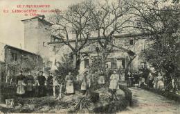 Dép 81 - Militaria - Cachet Détachements D´instruction Franchise Militaire - Labruguière - Cour Intérieure Du Chateau - Labruguière