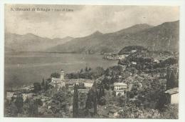 S.GIOVANNI DI BELLAGIO LAGO DI COMO 1934  VIAGGIATA F.P. - Como