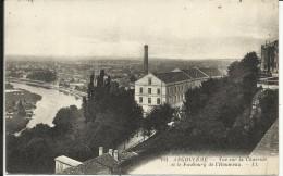 ANGOULEME , Vue Sur La Charente Et Le Faubourg De L' Houmeau , 1928 - Angouleme