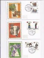 Belgie - Belgique 1789/94 FDC Zijde - FDC