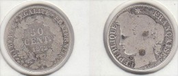 FRANCE  50c 1872 A - Francia