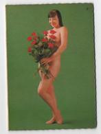 Calendrier Pin-ups Femme Seins Nus Format De Poche : Femme Dénudé 1971 - Calendriers