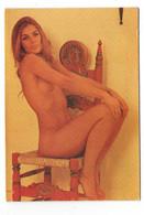 Calendrier Pin-ups Femme Seins Nus Format De Poche : Femme Dénudé 1977 - Calendriers