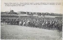 Cpa  Camp De Chalons Avant 1870 DEVANT LE QUARTIER IMPERIAL Se Dressait Le Dimanche L AUTEL - Militaria