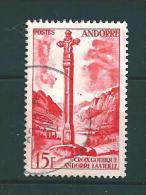 Andorre Timbre De 1955/58  N°146  Oblitéré - Gebruikt