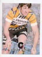 Cyclisme - André Chalmel, Né Le 10/10/1949 - Cycle Gitane - Equipe Compétition Renault - Cyclisme