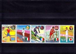 PARAGUAY - 1977 - **/MNH - OLYMPIC WINNERS - MEDAILLEN - Mi 2906/10 - Paraguay