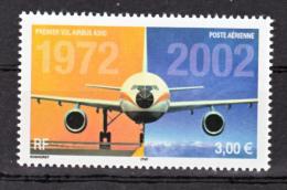 France PA  65 Airbus A300 2002  Neuf ** TB MNH Sin Charnela Faciale 3 - Posta Aerea