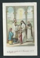 L. Turgis - Oeuvre De La Sainte-Enfance. Belle Lithographie.  Le  Baptème. - Images Religieuses