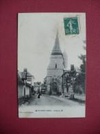 Cpa.r - Le Gros-theil (27) - L'église - éditions Védie - Autres Communes