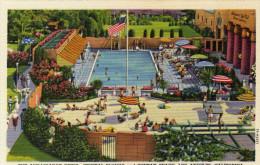 The Ambassador Hotel,Crystal Plunge And Suntan Beach, Los Angeles - Los Angeles