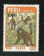 (cl. 4 - P.40) Perou ** N° 780 (ref. Michel Au Dos)   Singe Atèle - - Peru