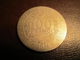 100 Francs 1974  Afrique De L´Ouest Union Monétaire Ouest Africaine - Andere - Afrika