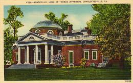 Home Of Thomas  Jefferson, Monticello, Charlottesville, Virginia - United States