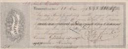 Lettre Change 10/5/1876 JAPY Frères éclairage BEAUCOURT Haut Rhin Pour Menton - Lettres De Change