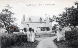 Cpa MACE, Château De Mermonde, Un Cheval Attend Sa Selle   (49.73) - La Ferte Mace