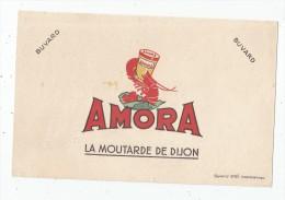 Buvard AMORA , EFGE , Valenciennes , Signé ,  Frais Fr : 1.30€ , Buvard Sup : 0.50€ - Unclassified