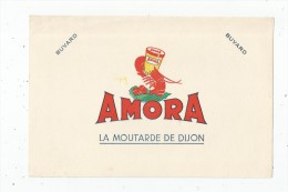 Buvard AMORA  , Signé , Petit Modéle ,  Frais Fr : 1.30€ , Buvard Sup : 0.50€ - Unclassified