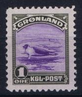 Greenland: Mi Nr 8 MNH/** Sans Charnière  Postfrisch  1945 - Ungebraucht