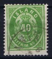 ICELAND Mi Nr  11 A Used Obl. - 1873-1918 Dépendance Danoise