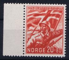 NORWAY Mi Nr  236  FA 264  MNH/** Postfrisch With Sheetmargin - Ungebraucht