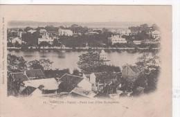 VIETNAM    (ASIE - Indochine - Viet-Nam  - TONKIN - CHINE)  : Hanoï Petit Lac (coté Européen) - Vietnam