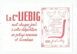 Buvard , La Compagnie LIEBIG , Potage , Frais Fr : 1.30€ , Buvard Sup : 0.50€ - Unclassified