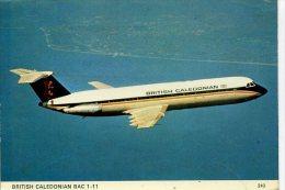 AVIATION - BRITISH CALEDONIAN BAC 1-11 - CHARLES SKILTON  242  Ap214 - 1946-....: Moderne