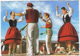 Cpsm  Folklore Basque FANDANGO - Non Classés